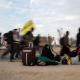 سوگواره چهارم-عکس 17-علی  حسن زاده-پیاده روی اربعین از نجف تا کربلا