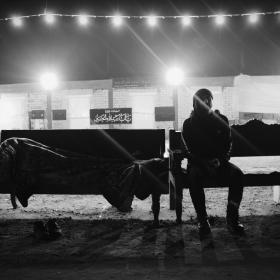 سوگواره سوم-عکس 86-حسین استوار -پیاده روی اربعین از نجف تا کربلا