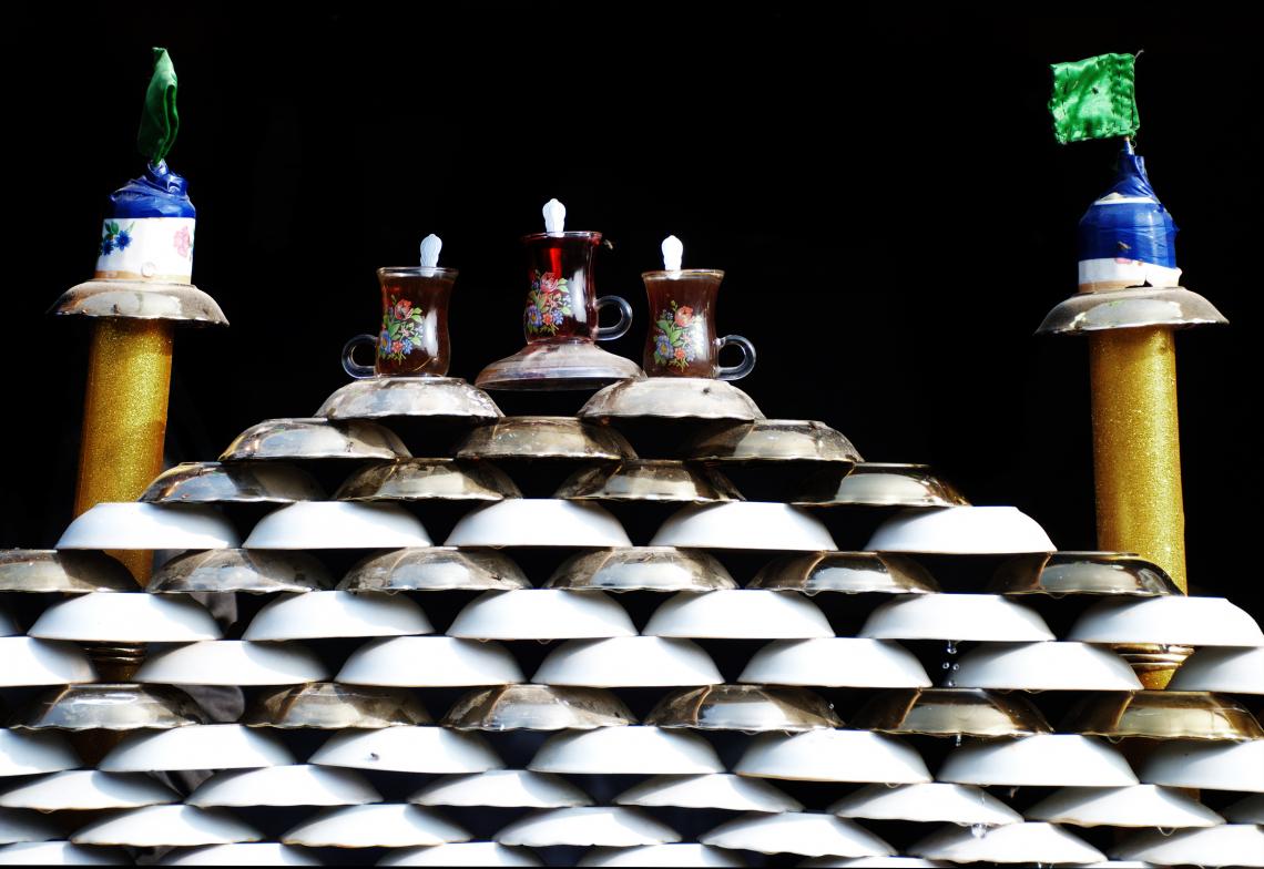 سوگواره چهارم-عکس 27-فرشته ادب جو-پیاده روی اربعین از نجف تا کربلا