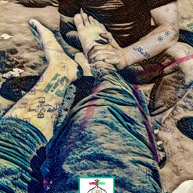 هفتمین سوگواره عاشورایی پوستر هیأت-سید محمد جواد ضمیری هدایت زاده-بخش جنبی-پوسترهای عاشورایی