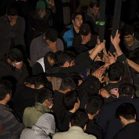 سوگواره چهارم-عکس 6-حسین رحیمی-آیین های عزاداری