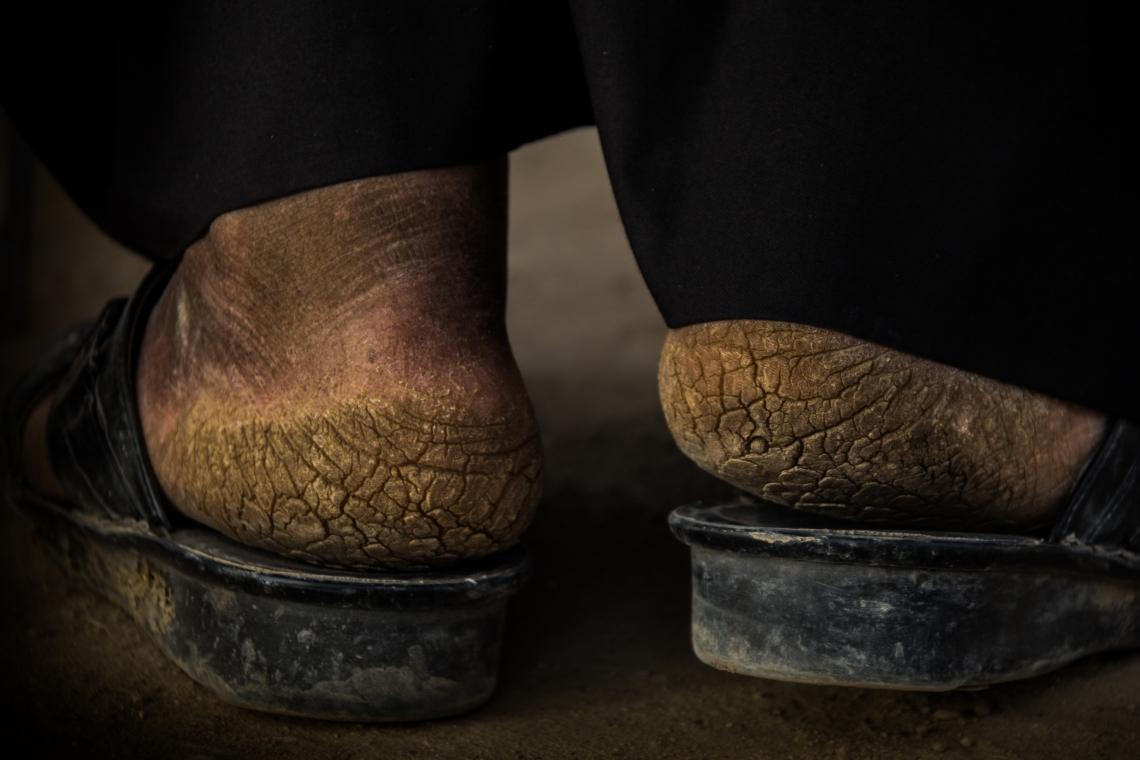 سوگواره چهارم-عکس 11-علی ابک-پیاده روی اربعین از نجف تا کربلا