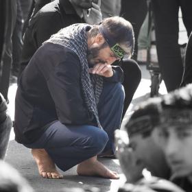 سوگواره چهارم-عکس 42-سید وحید میراحمدی -آیین های عزاداری