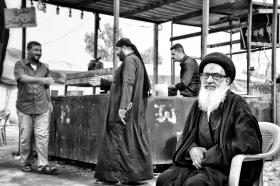 سوگواره پنجم-عکس 8-فاطمه سادات رضاتوفیق-پیاده روی اربعین از نجف تا کربلا