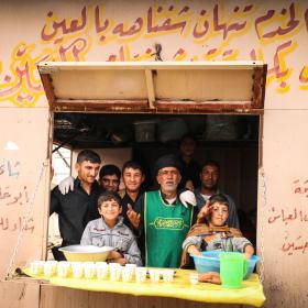 سوگواره چهارم-عکس 18-محمد رضا میثمی-پیاده روی اربعین از نجف تا کربلا