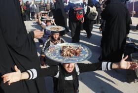 سوگواره سوم-عکس 3-محمد  آهنگر-پیاده روی اربعین از نجف تا کربلا