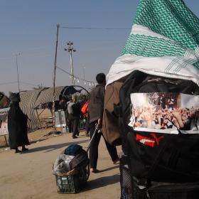 سوگواره سوم-عکس 26-محمد ابراهیمی-پیاده روی اربعین از نجف تا کربلا