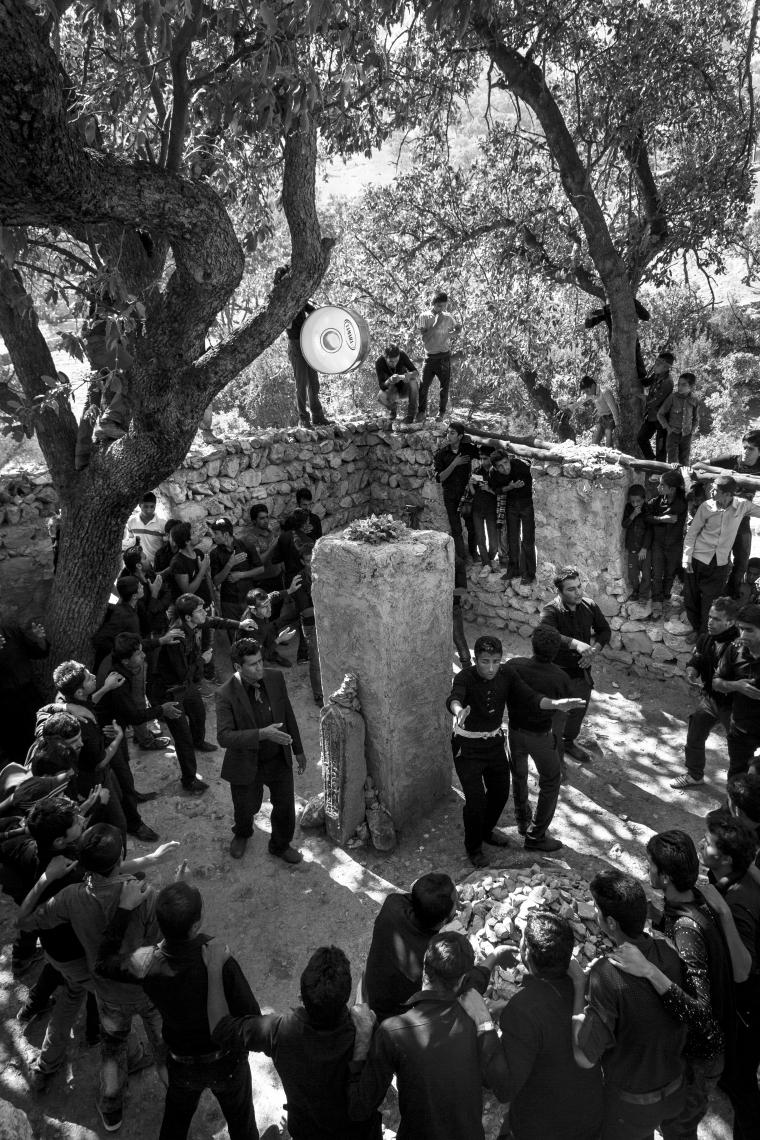 سوگواره چهارم-عکس 5-اسحاق آقایی منصور اباد-آیین های عزاداری