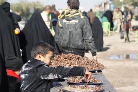 سوگواره دوم-عکس 34-محسن مرادی-پیاده روی اربعین از نجف تا کربلا