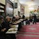 سوگواره چهارم-عکس 42-احمدرضا کریمی-جلسه هیأت فضای بیرونی