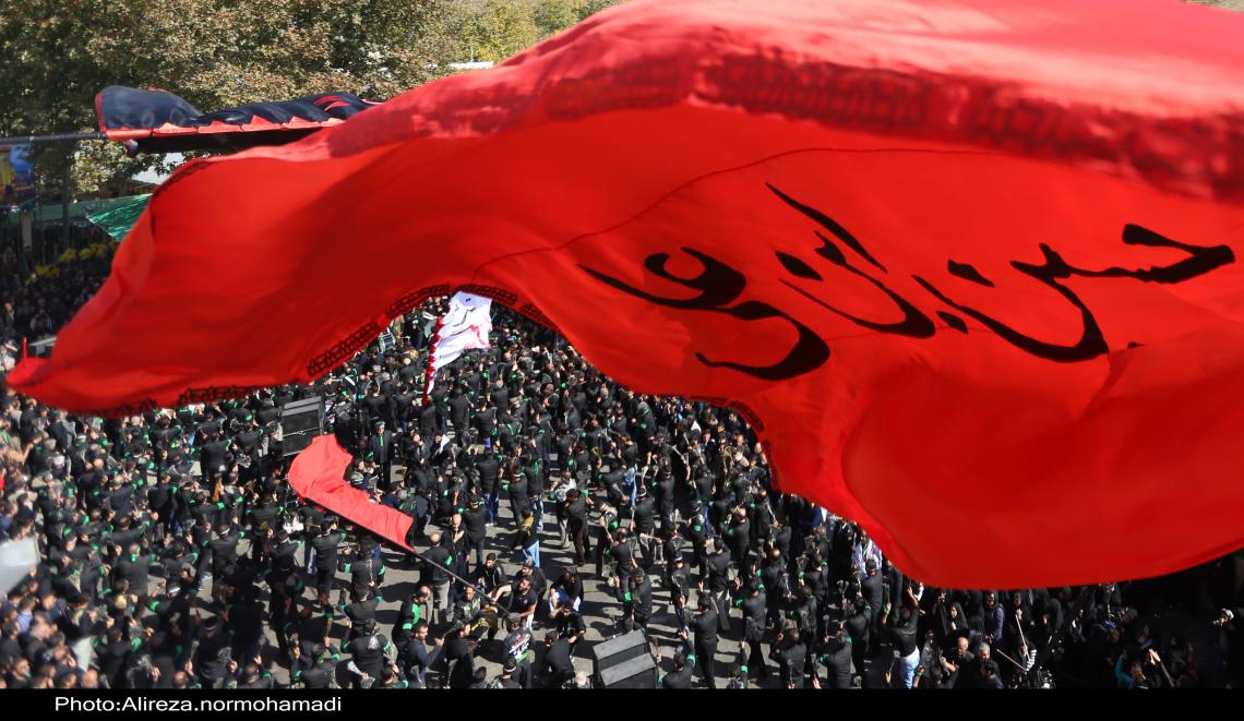 سوگواره چهارم-عکس 13-علیرضا  نورمحمدی-آیین های عزاداری