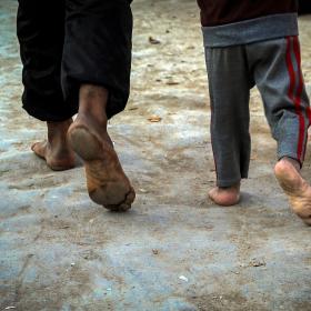 سوگواره پنجم-عکس 65-محمد حسن صلواتی-پیاده روی اربعین از نجف تا کربلا