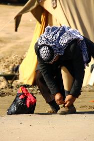 سوگواره دوم-عکس 7-حمید عابدی-پیاده روی اربعین از نجف تا کربلا