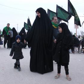 سوگواره سوم-عکس 3-امیر ورزدار-پیاده روی اربعین از نجف تا کربلا