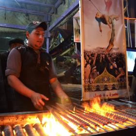سوگواره دوم-عکس 19-محمدامین غفاری-پیاده روی اربعین از نجف تا کربلا