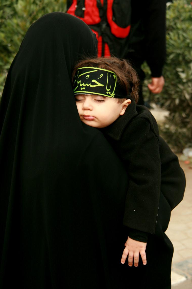 سوگواره سوم-عکس 2-محمد رضا یگانه گوی مقدم-پیاده روی اربعین از نجف تا کربلا