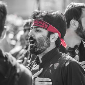 سوگواره چهارم-عکس 41-سید وحید میراحمدی -آیین های عزاداری