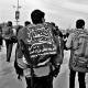سوگواره پنجم-عکس 30-محمد حسین صادقی-پیاده روی اربعین از نجف تا کربلا