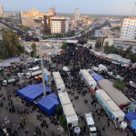 سوگواره چهارم-عکس 53-امير رضا فخري-پیاده روی اربعین از نجف تا کربلا