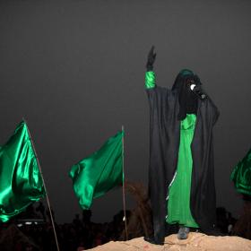 سوگواره سوم-عکس 35-حسین استوار -آیین های عزاداری