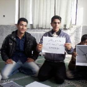 سوگواره دوم-عکس 94-سید لطفعلی رادخانه-جلسه هیأت یادبود