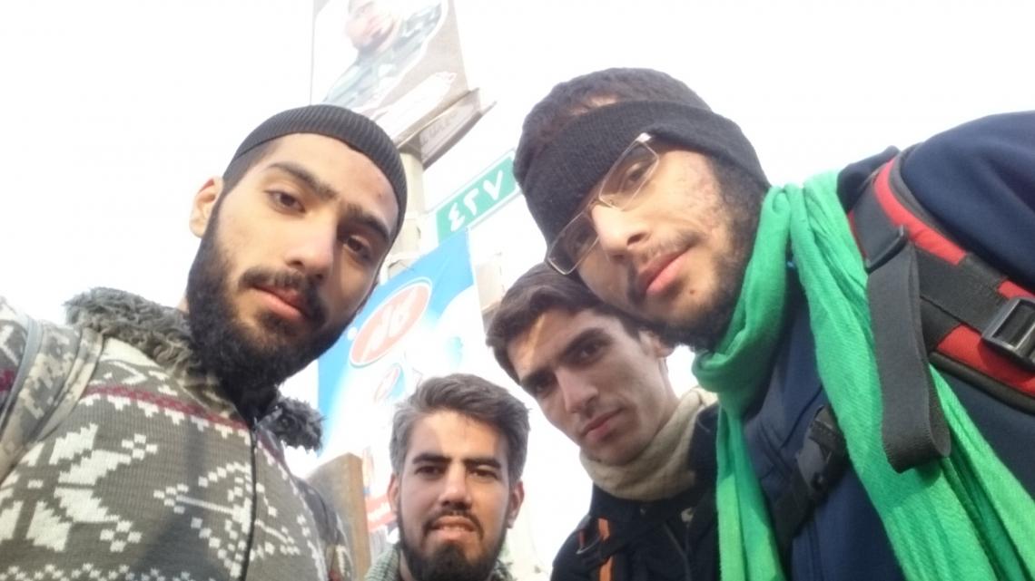 سوگواره پنجم-عکس 3-سیدمصطفی احمدی-پیاده روی اربعین از نجف تا کربلا
