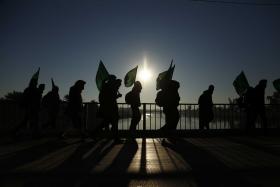 سوگواره سوم-عکس 10-علی بیات-پیاده روی اربعین از نجف تا کربلا