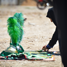 سوگواره پنجم-عکس 33-حسین رحیمی-جلسه هیأت فضای بیرونی