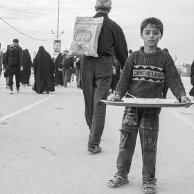سوگواره چهارم-عکس 20-علی معصومی-پیاده روی اربعین از نجف تا کربلا