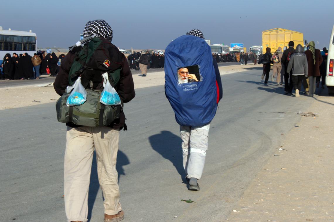 سوگواره دوم-عکس 2-امید عباسی-پیاده روی اربعین از نجف تا کربلا