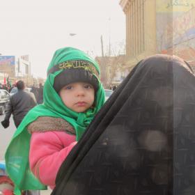 سوگواره دوم-عکس 25-سید صالح پورمعروفی-پیاده روی اربعین از نجف تا کربلا