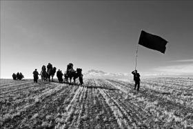 سوگواره چهارم-عکس 12-محسن زارع-آیین های عزاداری