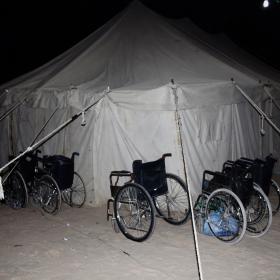 سوگواره دوم-عکس 2-امیر رضا فخری-پیاده روی اربعین از نجف تا کربلا