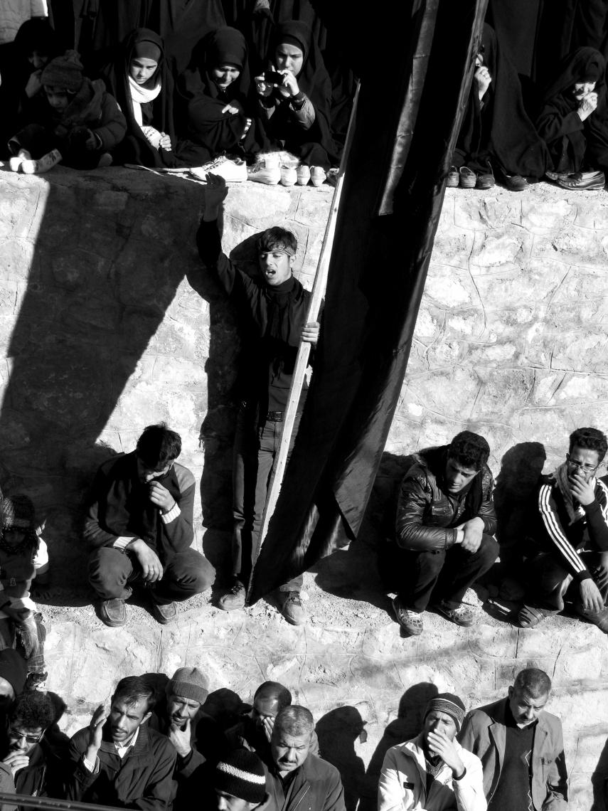 سوگواره چهارم-عکس 32-محدثه عامری-آیین های عزاداری