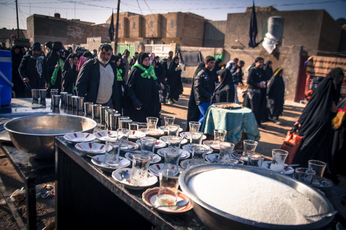 سوگواره سوم-عکس 43-علی دهقان-پیاده روی اربعین از نجف تا کربلا