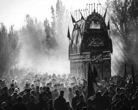 سوگواره سوم-عکس 5-محمد  اناری -آیین های عزاداری