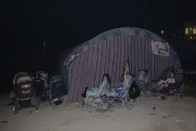 سوگواره دوم-عکس 3-امیر رضا فخری-پیاده روی اربعین از نجف تا کربلا