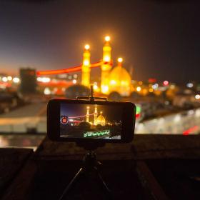 سوگواره چهارم-عکس 41-علی بیات-پیاده روی اربعین از نجف تا کربلا