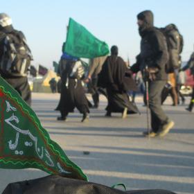 سوگواره دوم-عکس 9-ابوذر کمال-پیاده روی اربعین از نجف تا کربلا