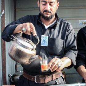 سوگواره سوم-عکس 25-احمد قارداش پور طرقی-پیاده روی اربعین از نجف تا کربلا