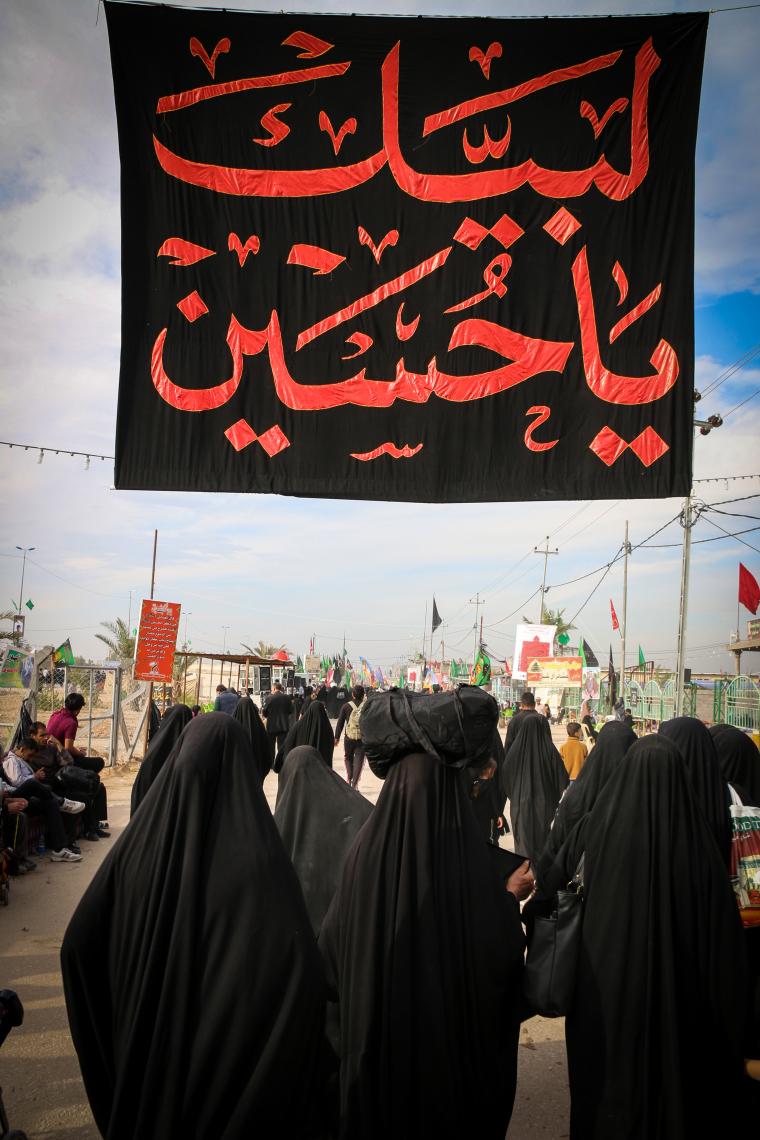 سوگواره چهارم-عکس 36-محمد رضا میثمی-پیاده روی اربعین از نجف تا کربلا