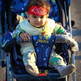 سوگواره چهارم-عکس 8-محمد رضا میثمی-پیاده روی اربعین از نجف تا کربلا