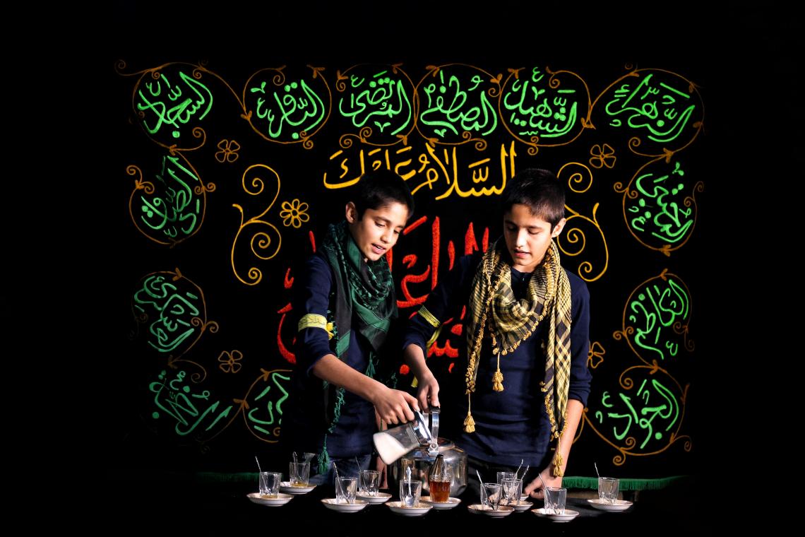 سوگواره پنجم-عکس 20-بهنام  احمدخانی-پیاده روی اربعین از نجف تا کربلا