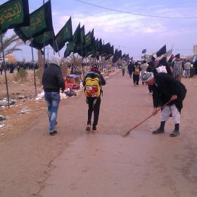 سوگواره سوم-عکس 18-محمد وحيدي-پیاده روی اربعین از نجف تا کربلا