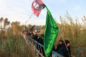 سوگواره پنجم-عکس 8-احسان مهدیان-پیاده روی اربعین از نجف تا کربلا