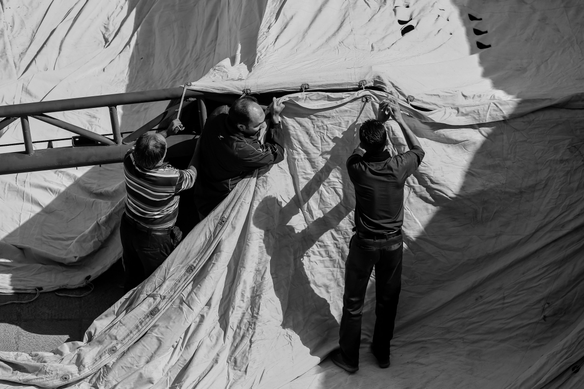 سوگواره پنجم-عکس 58-مجید حجتی-جلسه هیأت فضای بیرونی