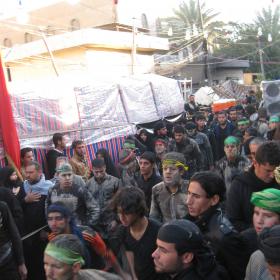 سوگواره دوم-عکس 17-محمد کشاورز-پیاده روی اربعین از نجف تا کربلا