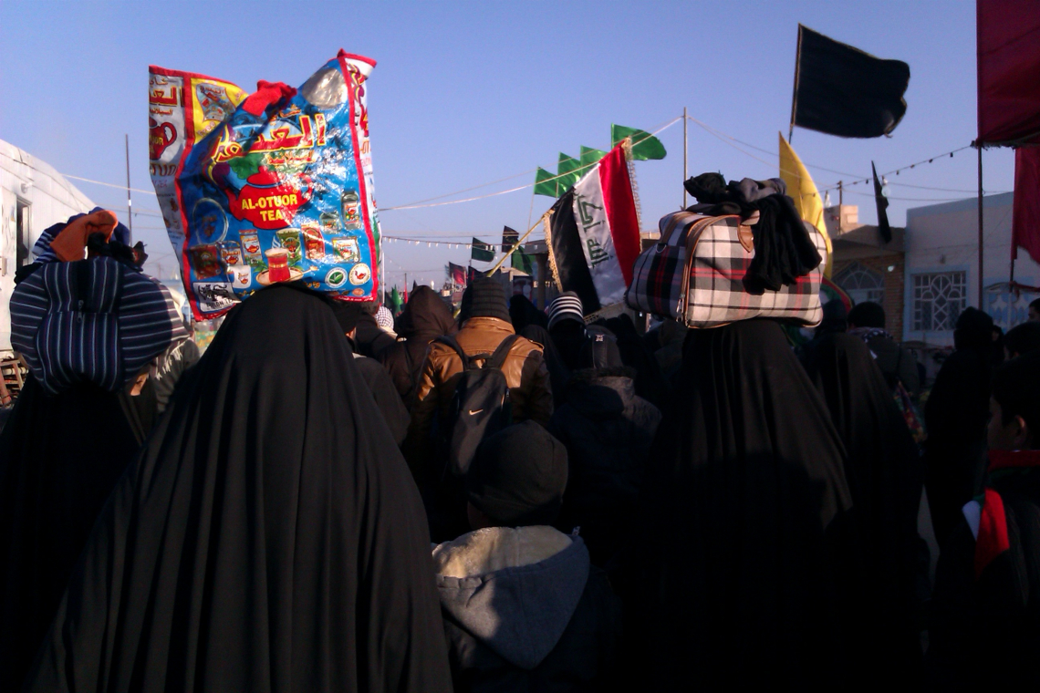 سوگواره دوم-عکس 6-محمد وحیدی-پیاده روی اربعین از نجف تا کربلا