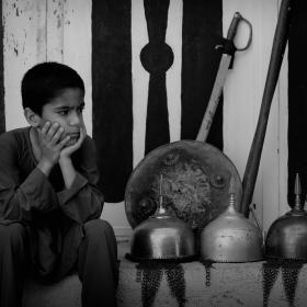 سوگواره سوم-عکس 10-حسین استوار -آیین های عزاداری