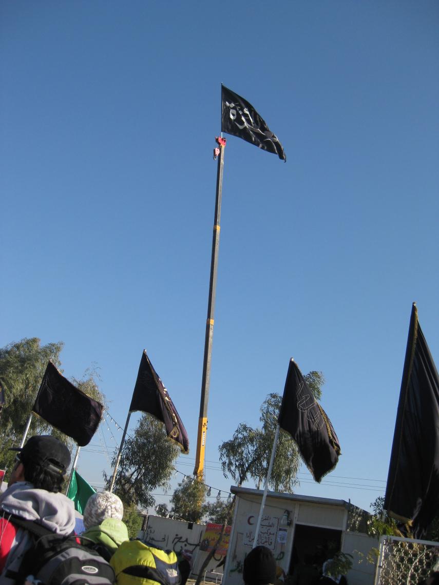 سوگواره دوم-عکس 38-محمد کشاورز-پیاده روی اربعین از نجف تا کربلا